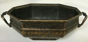 BEAUTIFUL HEAVY VINTAGE CLASSICAL BRONZE PLANTER