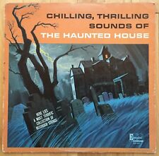 CHILLING THRILLING SOUNDS OF THE HAUNTED HOUSE DISNEYLAND HALLOWEEN VINYL RECORD