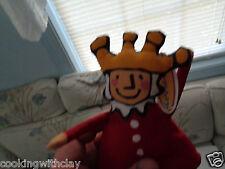 CROCODILE CREEK PLUSH DOLL FIGURE OLD KING COLE NURSERY RHYME LUCY COUSINS TOY