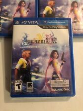 Final Fantasy X/X-2 HD Remaster Playstation Vita Brand New! Fast Shipping!