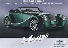 MORGAN AERO 8 Roadster Classic Car British Prospekt Brochure 12