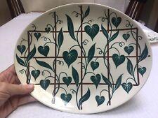 "Homer Laughlin Dura-Print 13-1/2"" Platter Trellis Pattern 1952 Difficult to Find"