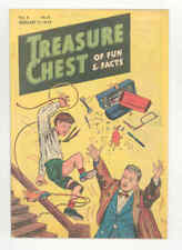 TREASURE CHEST v3 #13 EXTREMELY RARE 1947 Michelangelo Vatican CHUCK WHIT VF/NM