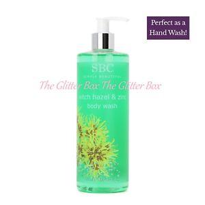SBC WITCH HAZEL & ZINC Body/Hand Wash 500ml ~ NEW FRESH STOCK