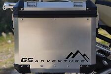 BMW MOTORCYCLE R1200GS/GSA L/R.PANNIERS/CASES DECAL/STICKERS.!!