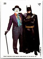 1989 Topps Batman The Movie 2nd Series Sticker Card #23