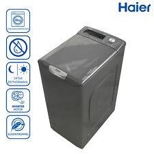Toplader Waschmaschine 8kg Haier RTXSSGQ84TMHR-84 Dampffunktion AquaProtect Grau