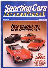 Sporting Cars (UK) magazine - April 1986
