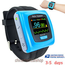 CMS50F Wrist Watch Pulse Oximeter Spo2 Monitor Daily Overnight Sleep Software