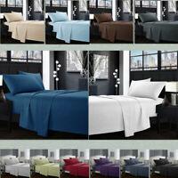Egyptian Comfort 1800 Count 4 Piece Deep Pocket Bed Sheet Set Wrinkle Free R2