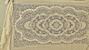 Lace Twin Canopy Brown Organic Cotton Victorian Rose Bedroom Vintage Style