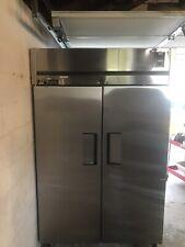 True Pass Thru 2 Door Refrigerator