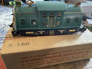 Lionel PerWar Standard Gauge Train No. 10 Electric Locomotive Shell, Base, Box