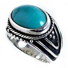 Ring_Sz-8_925 Sterling Silver #29_Dynamic_Bali_Turquois e_Cable Trim_