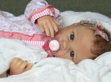 """Bundle Of Joy!"" - 19 "" Feel Her Breathe! Pacifier Baby Girl Collectors Doll"