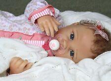 """Bundle Of Joy!"" - 19 "" Feel Her Breathe! Pacifier Baby Girl Collectors Doll"