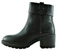 WRANGLER VAIL BOOTIE WL172531 scarpe stivaletti stivali donna pelle camoscio