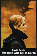 The man who fell to Earth David Bowie movie poster print 3