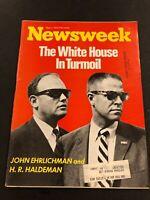 Newsweek Magazine May 7, 1973 The White House in Turmoil Red Ehrlichman Haldeman