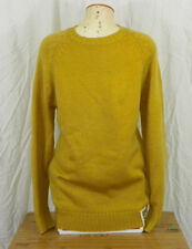 New Mens CandyGrind Solids Sweater Medium Gold