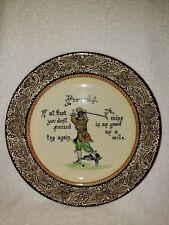 Royal Doulton Golf Plate Proverbs