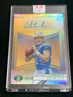 EASTON STICK 2019 PANINI ILLUSIONS ROOKIE ENDORSEMENTS RC AUTO 10/10 CHARGERS SP