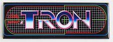 Tron Marquee FRIDGE MAGNET (1.5 x 4.5 inches) arcade video game header