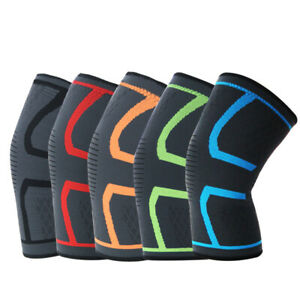 Knee Compression Sleeve x1 . Sports support brace