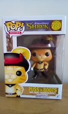 Funko Pop! Shrek Vinyl Figure - Puss In Boots #280.