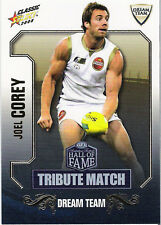 2008 Select AFL Classic HOF Tribute Match Card TM33 Joel Corey (Geelong)