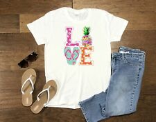 Women's Summer LOVE Tee Shirt Tank T-Shirt New Top Ladies Plus Size Clothing