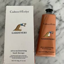 New/Sealed Crabtree & Evelyn GARDENERS Moisturising Hand Therapy 3.5 oz in Box