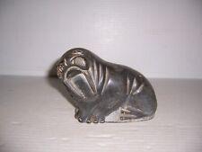 Vintage 1987 Canada Eskimo Art Carved Soapstone Walrus Sculpture Aisa Kaswalwak