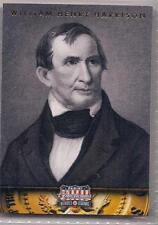 2012 Panini Americana Heroes & Legends William Henry Harrison