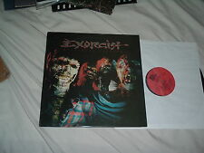 EXORCIST Nightmare Theatre '86 LP Thrash metal RARE ORIG CANADIAN IMPORT press