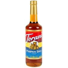 Torani Pumpkin Spice Syrup 750ml / 25.4oz
