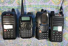 Two way Radio VHF/UHF Radioddity GD-77 Wouxun KG-UV9D TYT TH-UVF1 AUCTION LOT