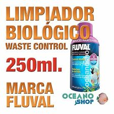 Limpiador Biológico Fluval (Waste Control) - 250ml gran calidad acuario gambario