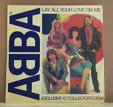 "ABBA Lay All Your Love On Me 1981 UK 12"" vinyl single EXCELLENT CONDITION B"