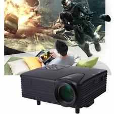"100"" Screen LED Projector 1080p Native Multimedia Home Theater VGA USB AV SD"