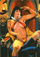 Vampirella 2011 Trading Cards Full 9 Card Puzzle Chase Set - Breygent