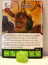 Marvel Dice Masters - #080 Loki - Illusionniste - Avengers vs X-Men