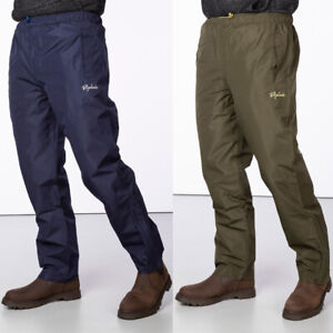 Rydale Waterproof Over Trousers Work Hiking Outdoor Trousers 2 Colours