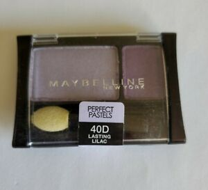 MAYBELLINE EXPERTWEAR EYESHADOW - PERFECT PASTELS - 40D LASTING LILAC NEW