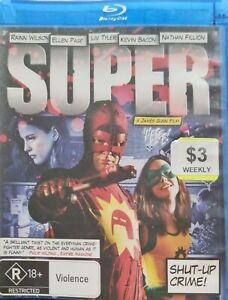 Super (Blu-Ray, 2011) *Very Good Condition