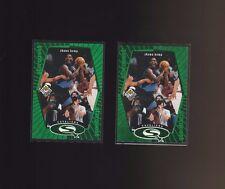 1998-99 Upper Deck UD Choice Starquest Green #SQ5 Shawn Kemp Cavaliers Lot of 2
