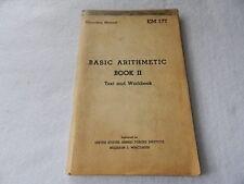 War Department Educational Manual-EM177 Basic Arithmetic Book II 1947