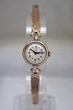 TUDOR por ROLEX-Oro sólido damas Deco Vintage Reloj-Hermoso! -! sin Reserva!