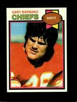 1979 TOPPS #183 GARY BARBARO NMMT CHIEFS NICELY CENTERED  *XR15458