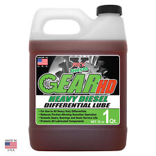 REV-X GEAR-HD Heavy Diesel Differential Lube Gear Oil - 85W - 140 GL5